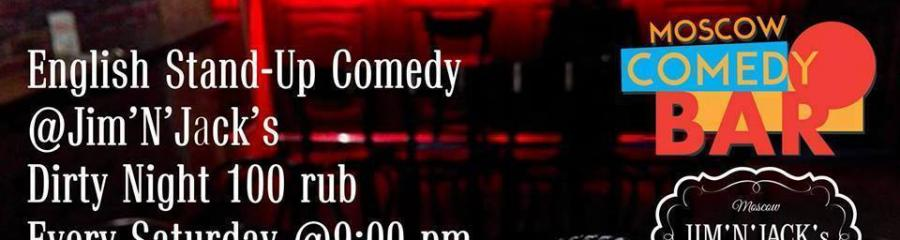 MoscowComedyBar.com presents English stand up