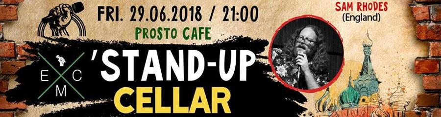 English Moscow Comedy: Stand-Up Cellar