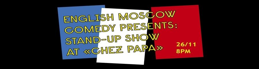 English Stand-up at Chez Papa